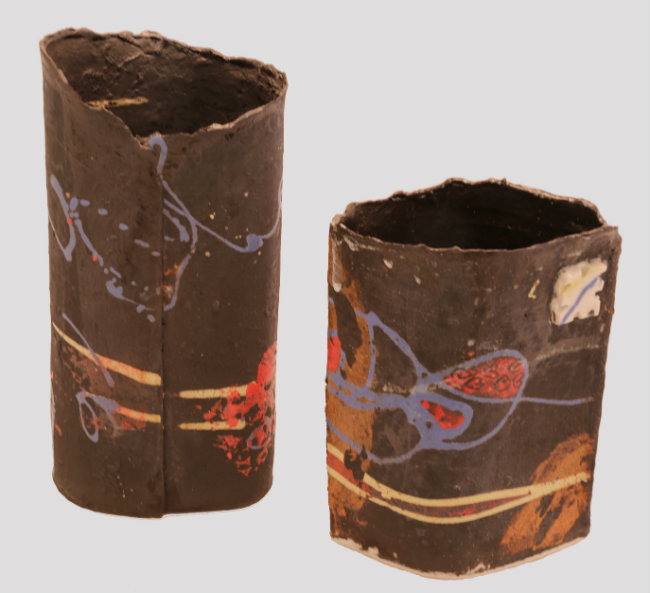 "Vases ""paper clay"""