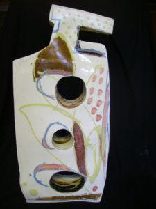 """grands bouteille en """"paper clay"""" porcelaine"""